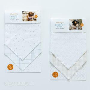Pet Kerchief Blank, Set of 2