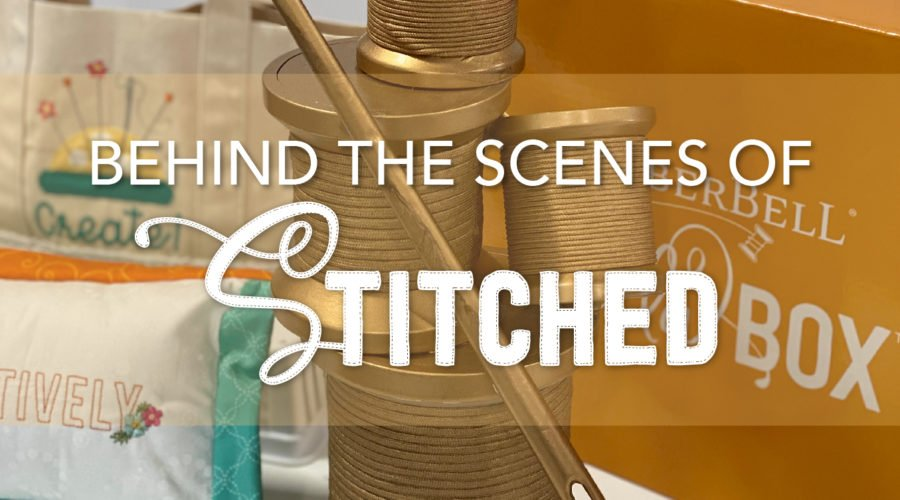 """Behind the Scenes of Kimberbell's """"Live Creatively"""" Stitched Show for Machine Embroidery Enthusiasts"""