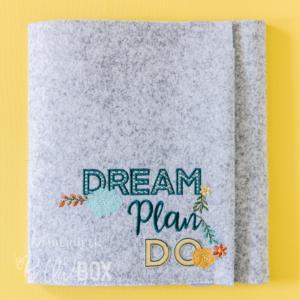 Dream, Plan, Do Creative Folio