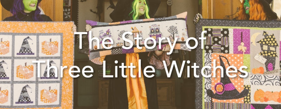 The Story of Three Little Witches: The Mini Projects from Kimberbell's Candy Corn Quilt Shoppe for Sewing and Machine Embroidery