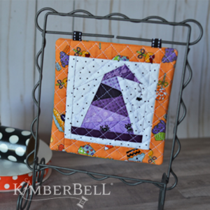 Machine Embroider by Number: Witch Hat