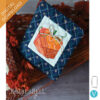 Machine Embroider by Number: Pumpkin