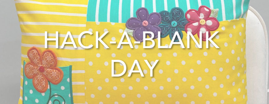 It's Hack-a-Blank Day with Kimberbell's Product Development Team!