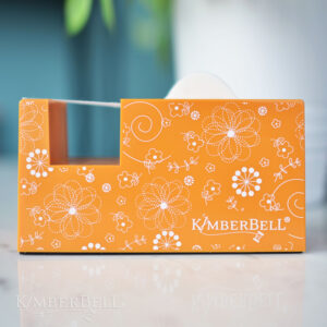 Kimberbell Paper Tape Dispenser, Orange Doodle
